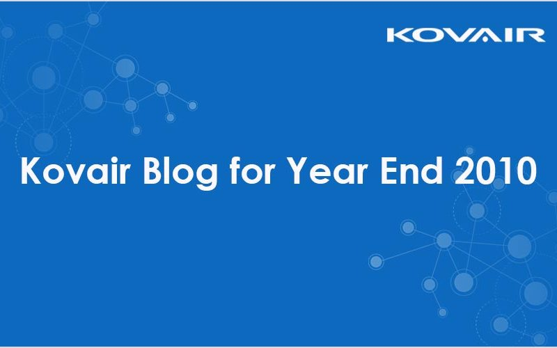 Kovair Blog for Year End 2010