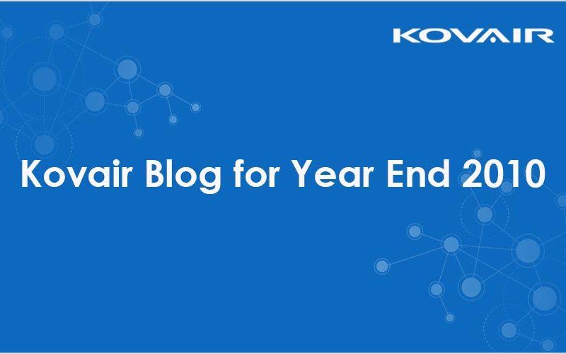 Kovair Blog for Year End 2010