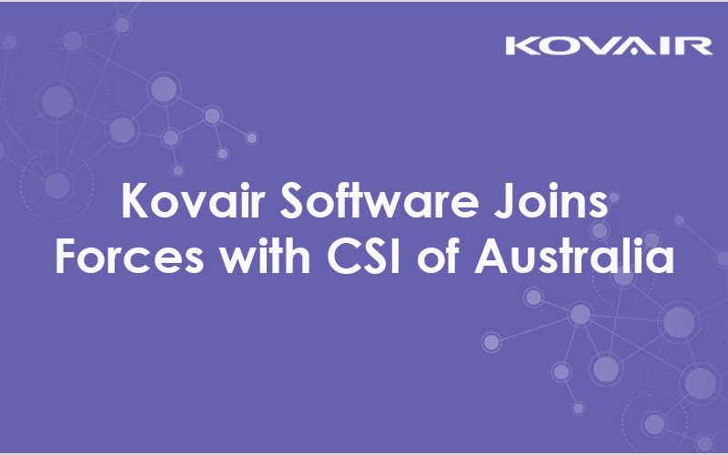 Kovair Software Joins Forces with CSI of Australia
