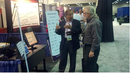 Bipin Shah with a Senior IBM Rational Staff Member