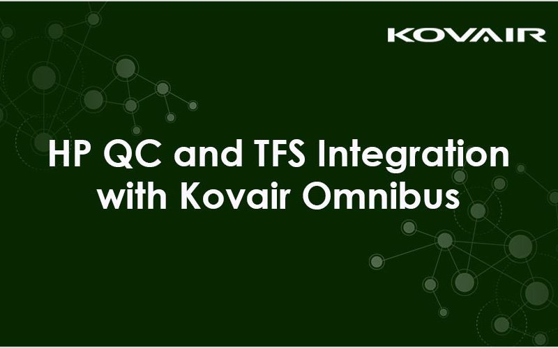 HP QC and TFS Integration with Kovair Omnibus
