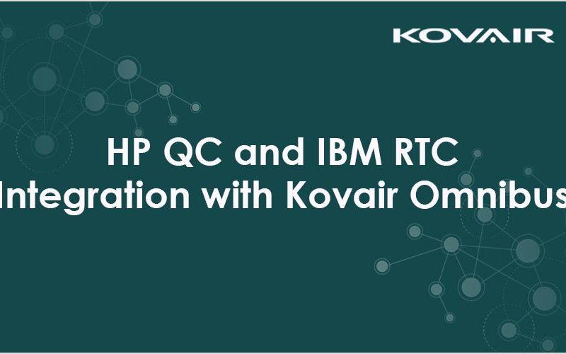 HP QC and IBM RTC Integration with Kovair Omnibus