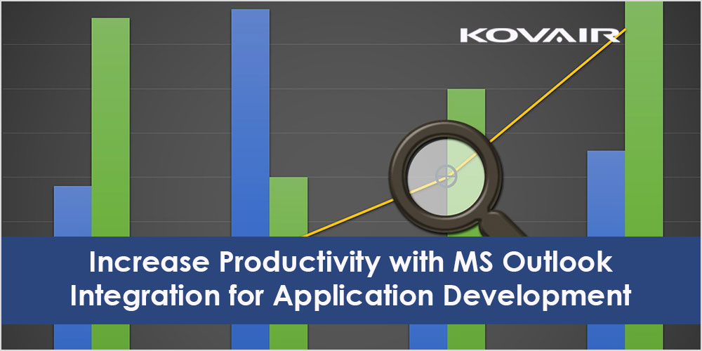 Increase Productivity with MS Outlook Integration for Application Development
