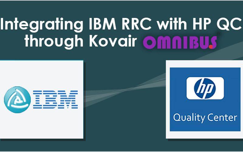 Integrating IBM RRC with HP QC through Kovair Omnibus