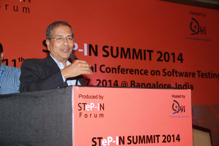 Bipin Shah at STeP-IN SUMMIT