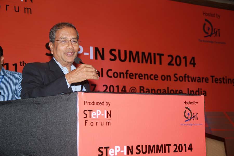 Bipin Shah at STeP-IN SUMMIT