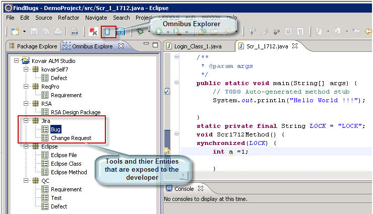 Kovair Omnibus Plug-in for Eclipse IDE