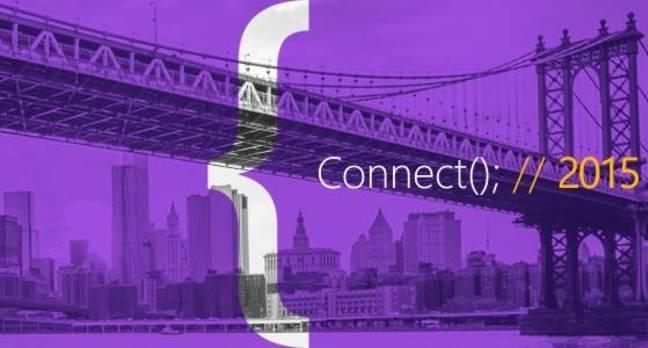 Microsoft Connect 2015