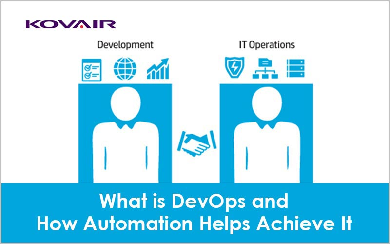 What is DevOps and How Automation Helps Achieve It