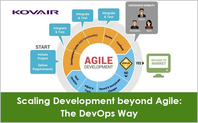 Scaling Development beyond Agile: The DevOps Way