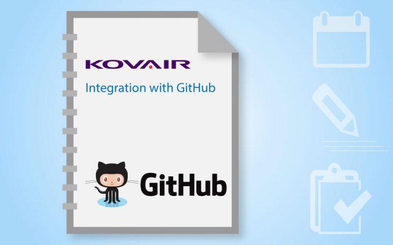 Kovair Github integration