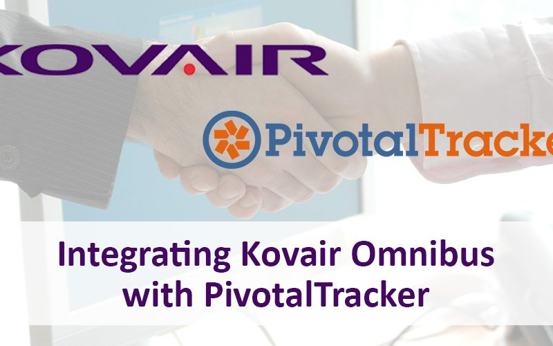 Kovair's Omnibus integration with Pivotal tracker