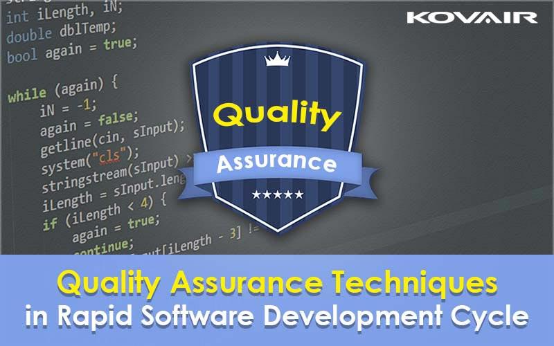 Quality Assurance for Software Development