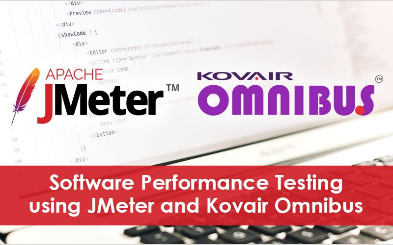 Software Performance Testing using JMeter and Kovair Omnibus