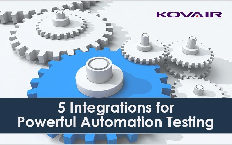 5 Integrations for Powerful Automation Testing