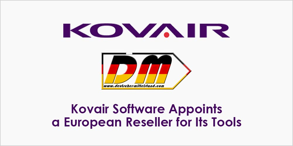 Kovair Software Appoints a European Reseller for Its Tools
