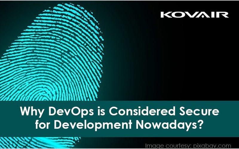 DevOps is Considered Secure for Development