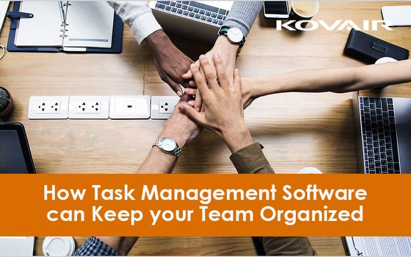 Task Management Software can Keep your Team Organized