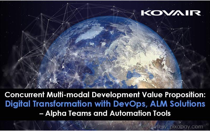 Digital Transformation with DevOps, ALM Solutions
