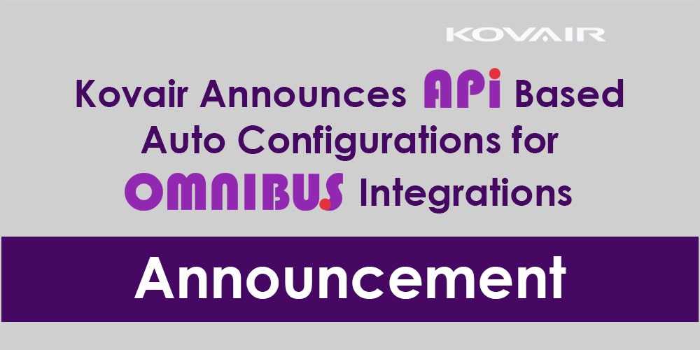 API Based Auto Configurations for Omnibus Integrations