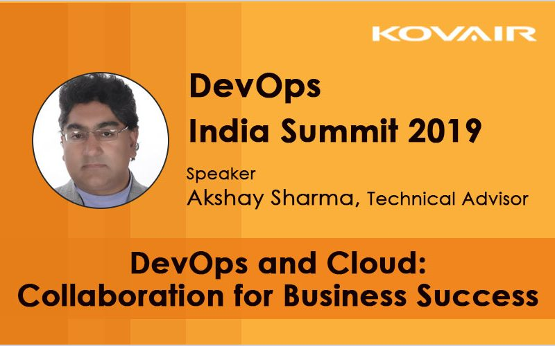 DevOps India Summit - Kovair