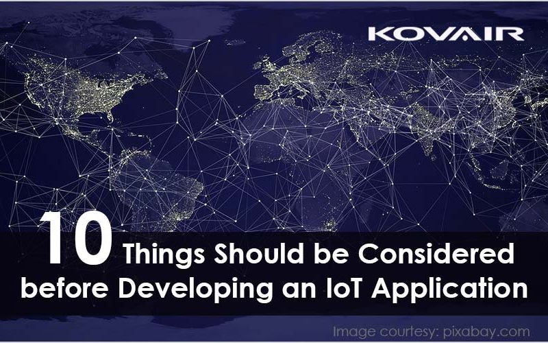 Developing an IoT Application