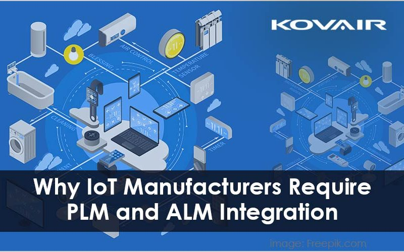 IoT Manufacturers Require PLM and ALM Integration