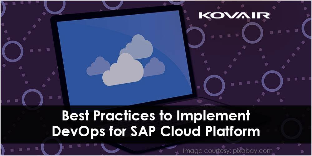 DevOps for SAP Cloud Platform