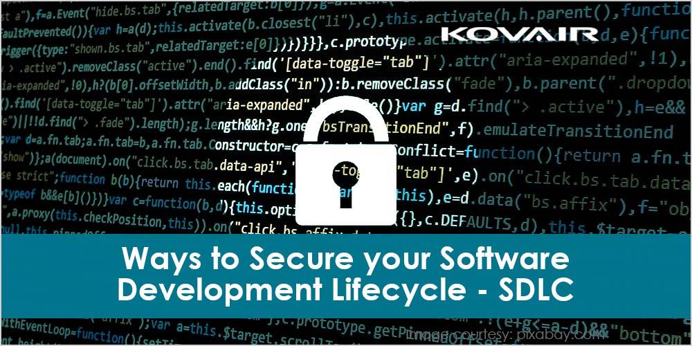 software development lifecycle (SDLC)