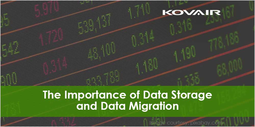 The Importance of Data Storage and Data Migration