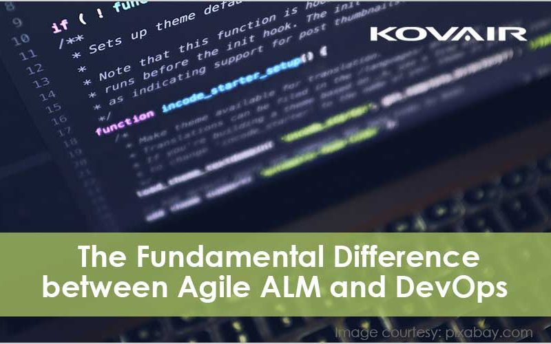 The Fundamental Difference Between Agile ALM and DevOps