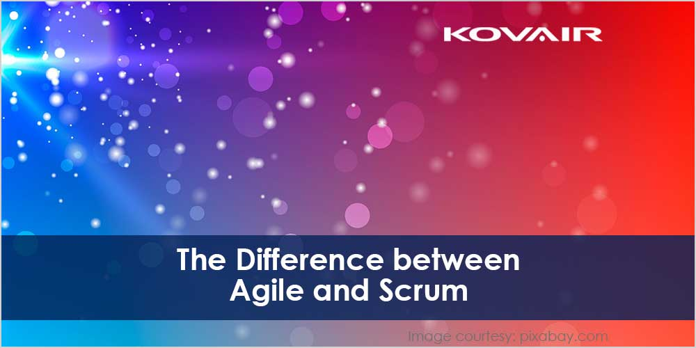 The Difference Between Agile and Scrum