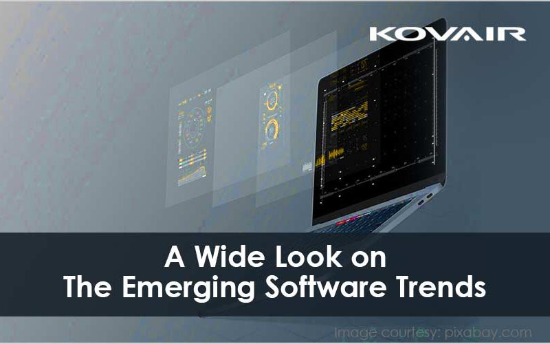 A Wide Look on The Emerging Software Trends