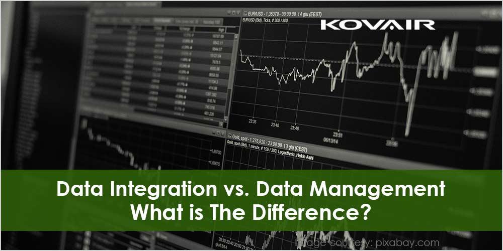 Data Integration vs. Data Management