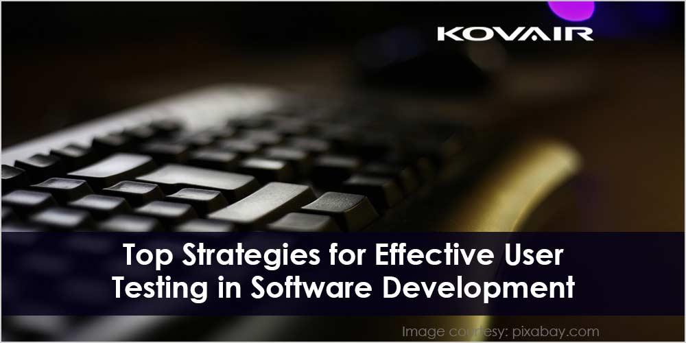 User Testing in Software Development