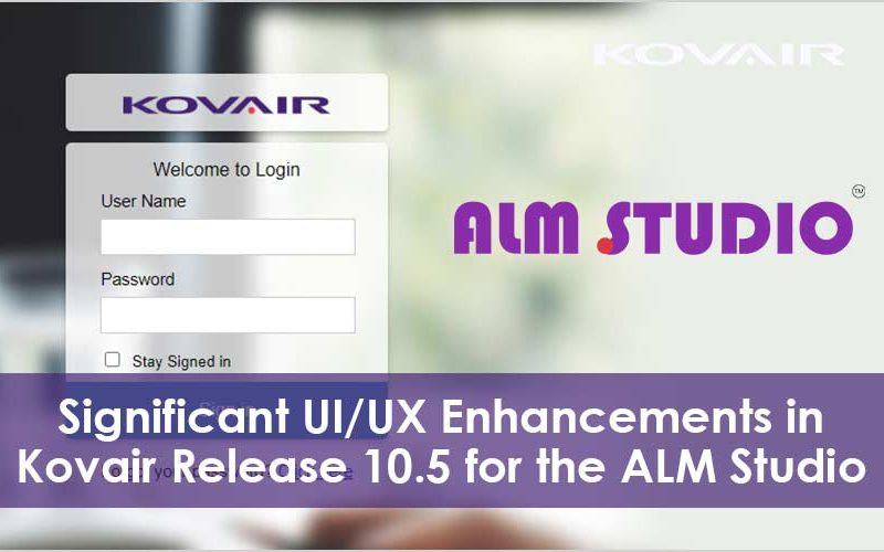 UI/UX Enhancements in Kovair ALM Studio
