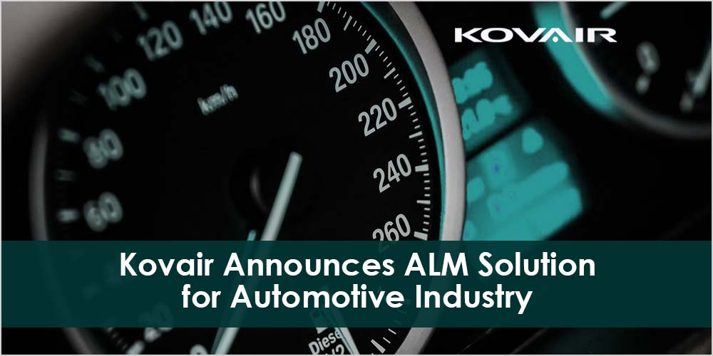 Kovair ALM Solution for Automotive Industry