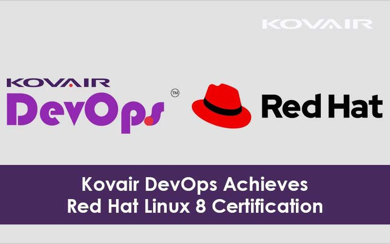 Kovair DevOps Achieves Red Hat Linux 8 Certification