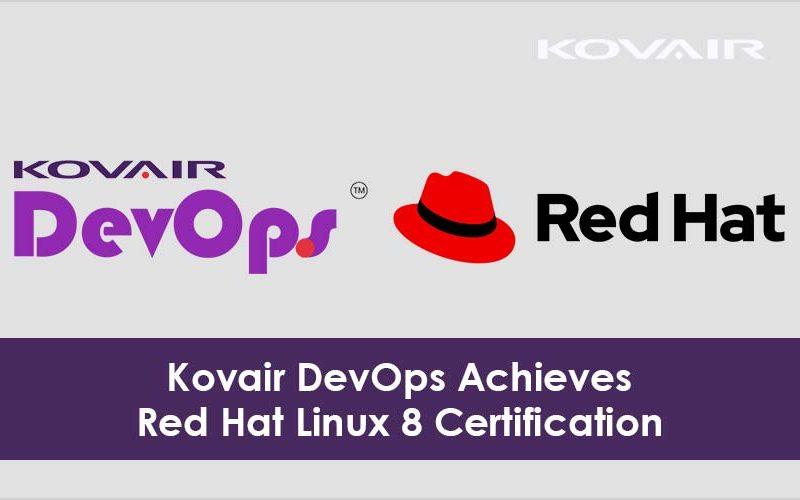 Kovair DevOps Achieves Red Hat Linux 8 Certification