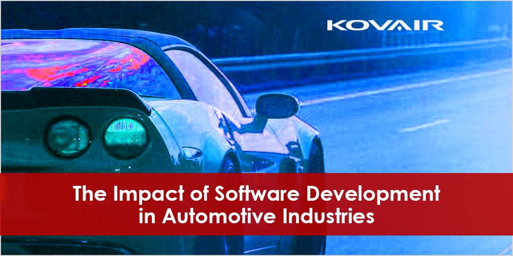 Software development and automotive industry