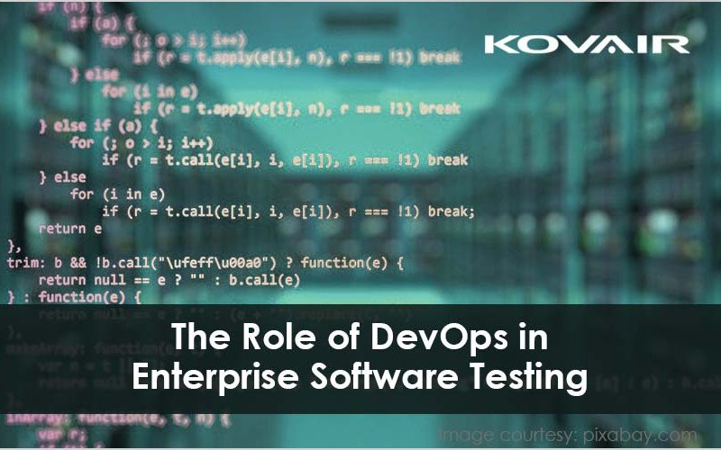The Role of DevOps in Enterprise Software Testing