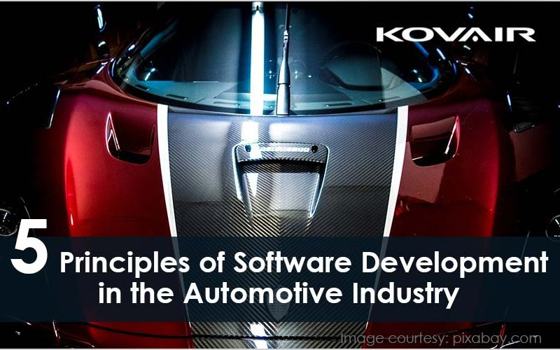 Software Development in the Automotive Industry
