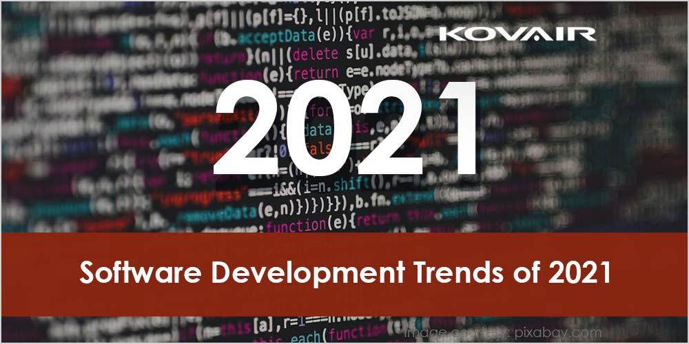 Software Development Trends of 2021