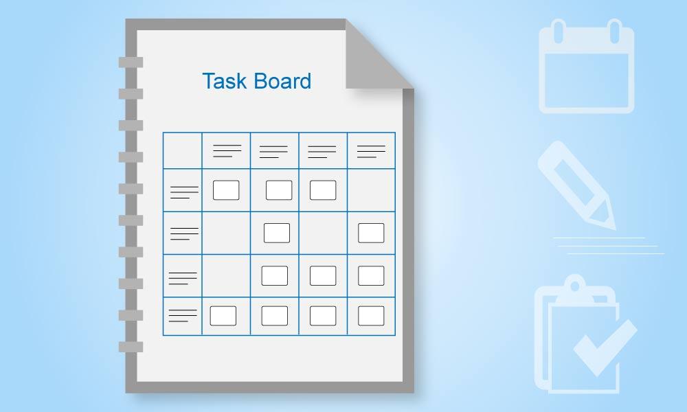 Agile Development with Kovair Task Board