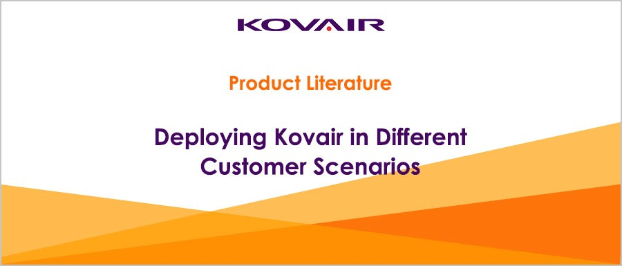 Deploying Kovair in Different Customer Scenarios