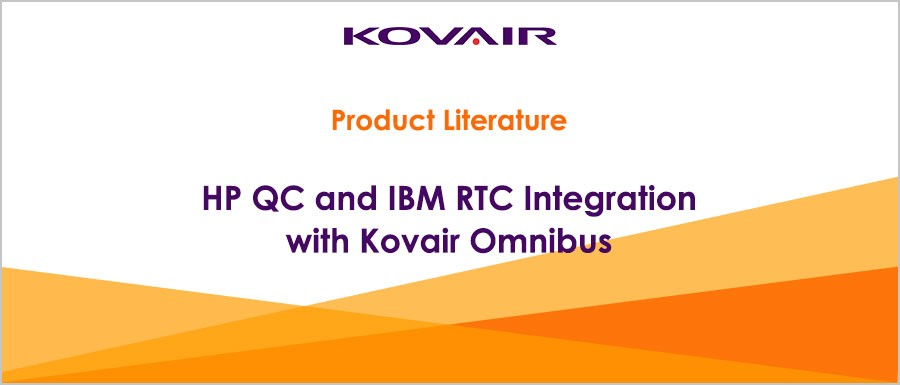HP QC and IBM RTC Integration with Kovair Omnibus
