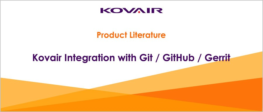 Kovair Integration with Git / GitHub / Gerrit