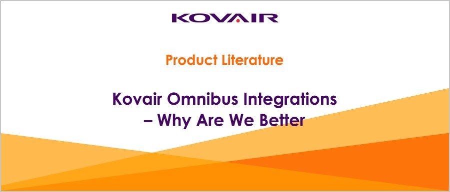 Kovair Omnibus Integrations – Why Are We Better
