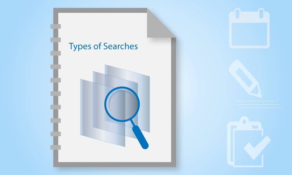 Types of Searches in Kovair Document
