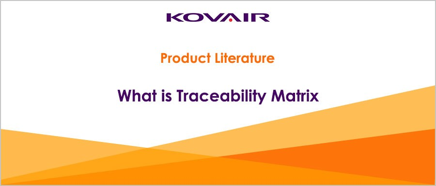 What is Traceability Matrix